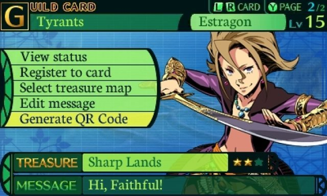 Screenshot - Etrian Odyssey IV: Legends of the Titan (3DS)
