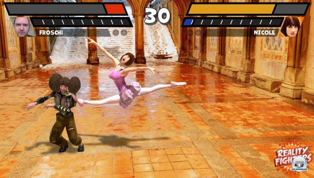 Das Spiel selbst: h�chst entt�uschend. Die Kampfmechanik ist lachhaft, die Kameraf�hrung eine Zumutung.