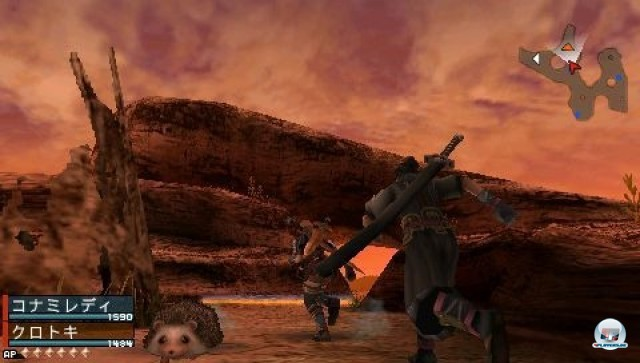 Screenshot - Frontier Gate (PSP) 2235574
