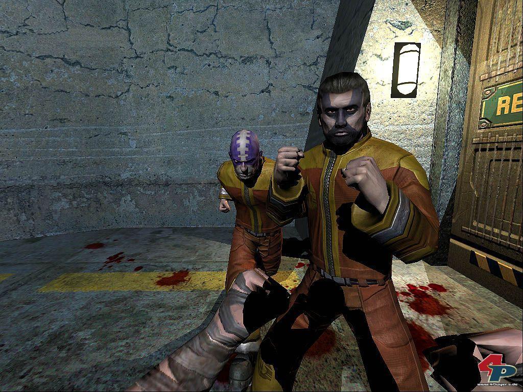 Официальные скриншоты из XBOX версии игры The Chronicles of Riddick