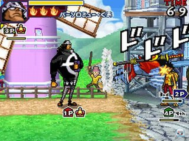 Screenshot - One Piece: Gigant Battle (NDS) 2216484