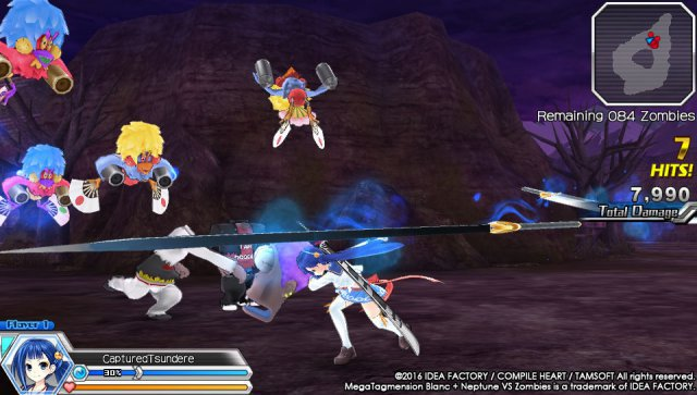 Screenshot - MegaTagmension Blanc   Neptune VS Zombies (PS_Vita) 92525091