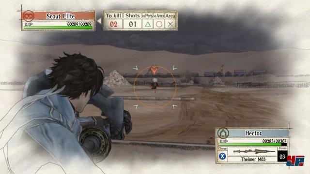Manuelles Zielen und Schulterblick versetzen den Spieler näher ans Geschehen.