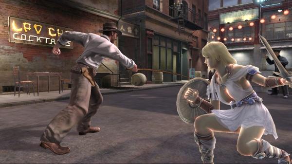 Indiana Jones<br><br>Nehmt euch vor seiner Laserpeitsche und dem Hut-des-Todes in acht! Dankbarerweise werden beide Specials aufgrund des Alters des Protagonisten nur sehr langsam ausgef�hrt.