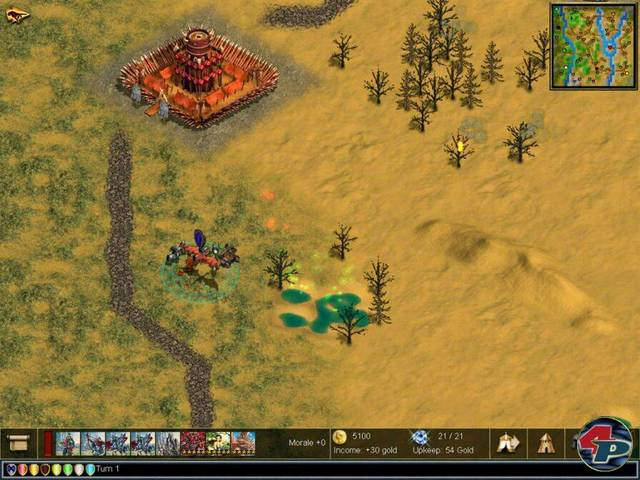 Warlords 4 : Heroes of Etheria 2003 / English Real-Time Strategy(RTS) скача