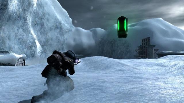Lost Planet <br><br> Capcoms Schauplatz für Lost Planet könnte man schnell mit Hoth verwechseln, denn auch hier herrschen durchgängig Temperaturen jenseits des Gefrierpunktes. Entsprechend ist die