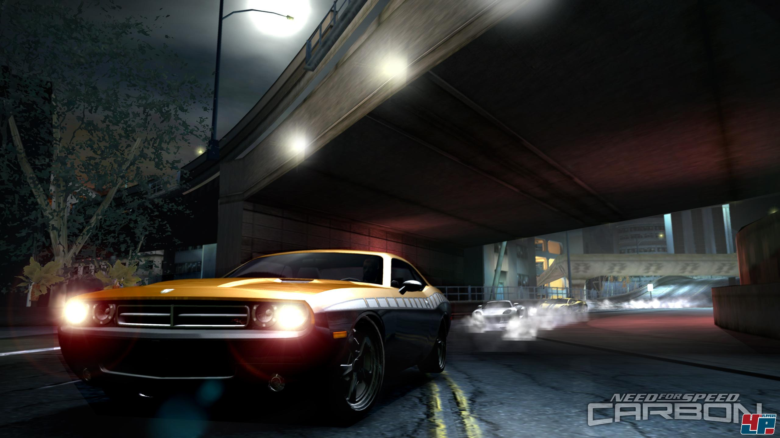 Need for Speed Carbon на XBOX360.