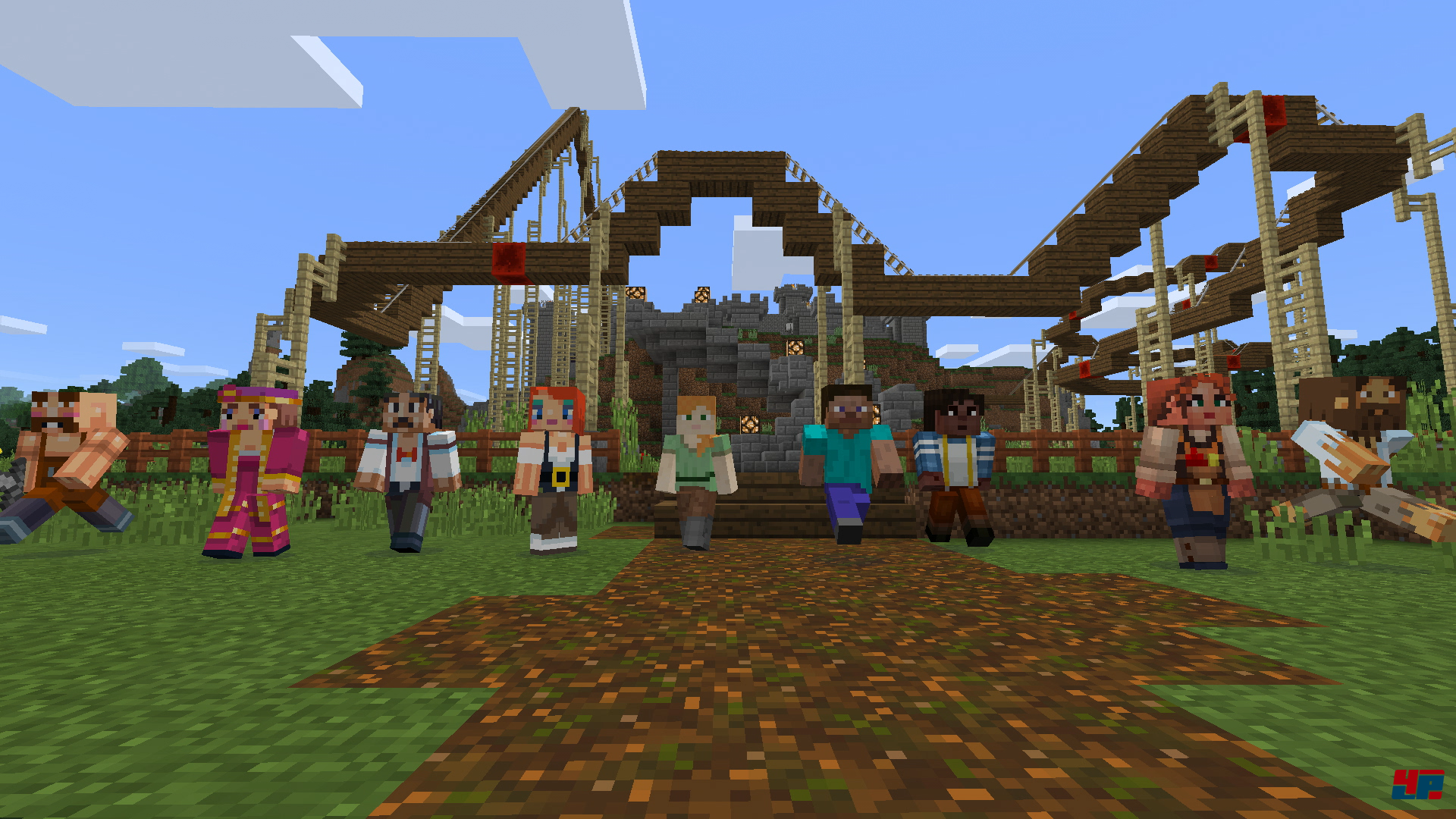 Screenshots Zu Minecraft Alles Zum SimulationSpiel Minecraft - Spiele wie minecraft pc