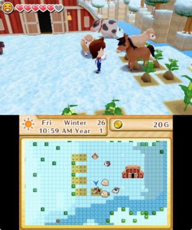 Screenshot - Harvest Moon: Das verlorene Tal (3DS) 92504993