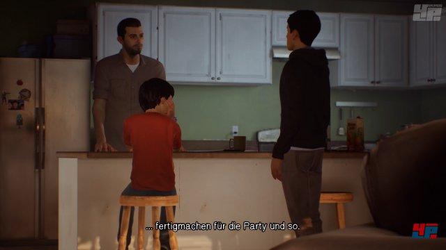 Sean und Daniel Diaz haben zur Abwechslung eine gute Beziehung zu Vater Esteban.