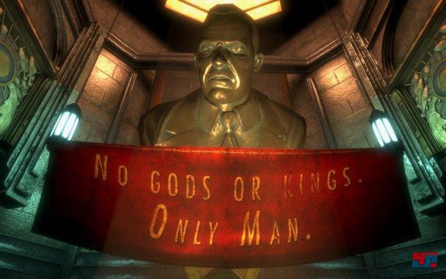 Screenshot aus der normalen PC-Version von BioShock; Quelle: NeoGAF