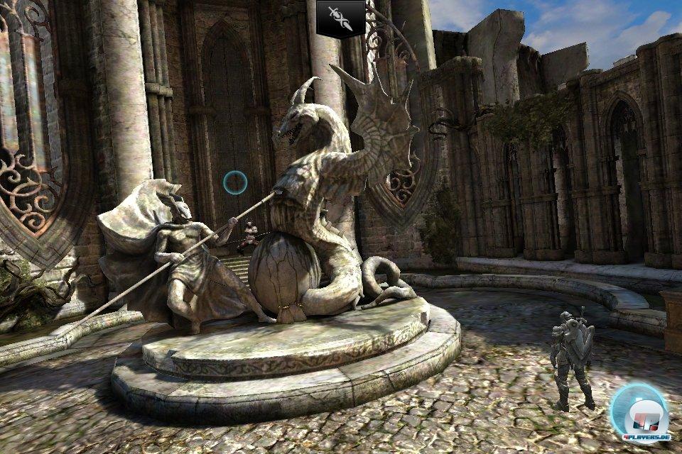 Technisch ist Infinity Blade 2 wieder mal ein Meisterwerk - gegenw�rtig gibt es kein mobiles Spiel, das beeindruckender aussieht.