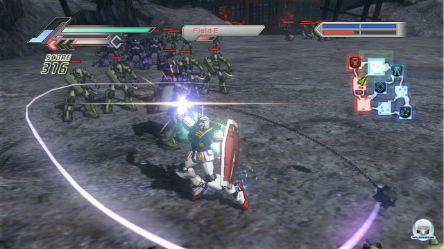 Screenshot - Dynasty Warriors: Gundam 3 (360) 2221618