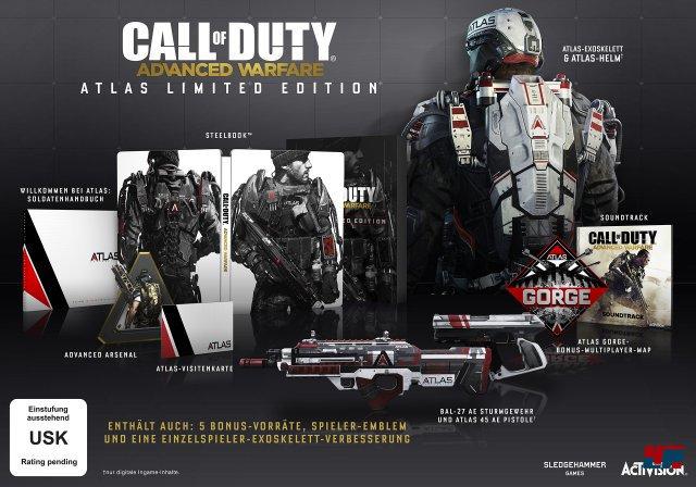 Die Atlas Limited Edition wird zu einem Preis von 79,99 Euro im Handel erhältlich sein.