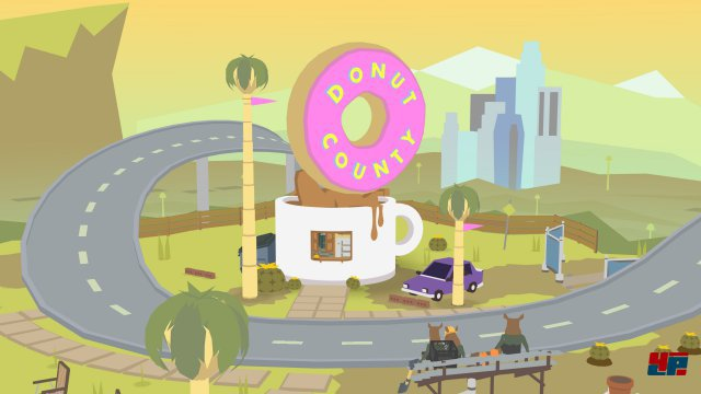 Screenshot - Donut County (iPad)