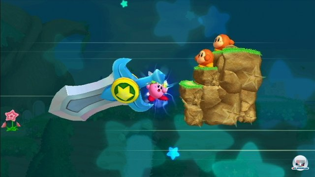 Screenshot - Kirby's Adventure Wii (Wii)