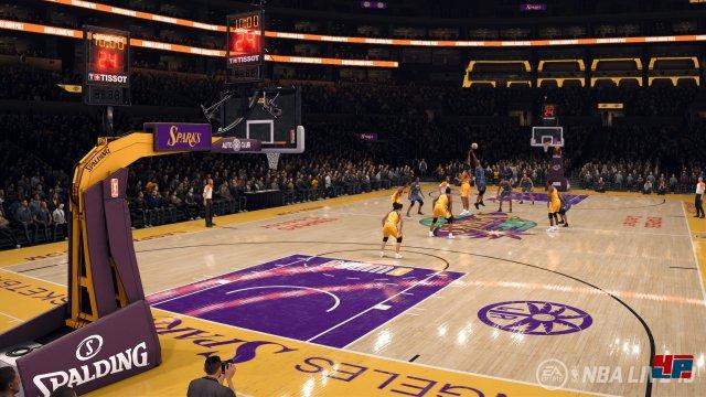 Screenshot - NBA Live 18 (PS4)