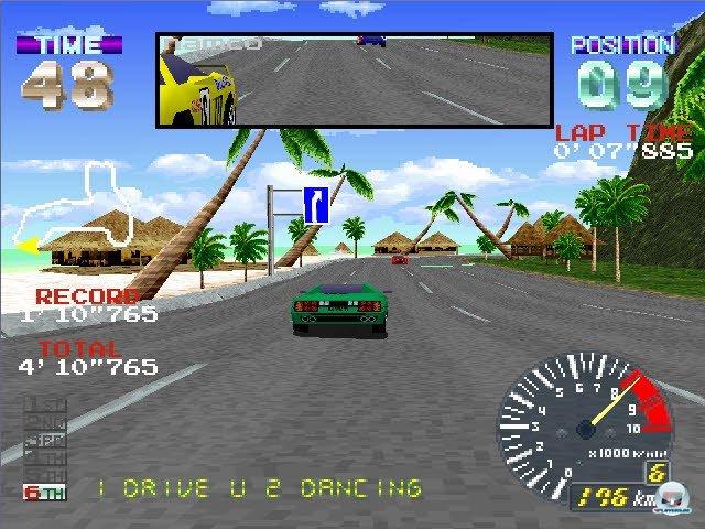Das Streckendesign von Ridge Racer Revolution ist großartig und übertrifft sogar das Original.