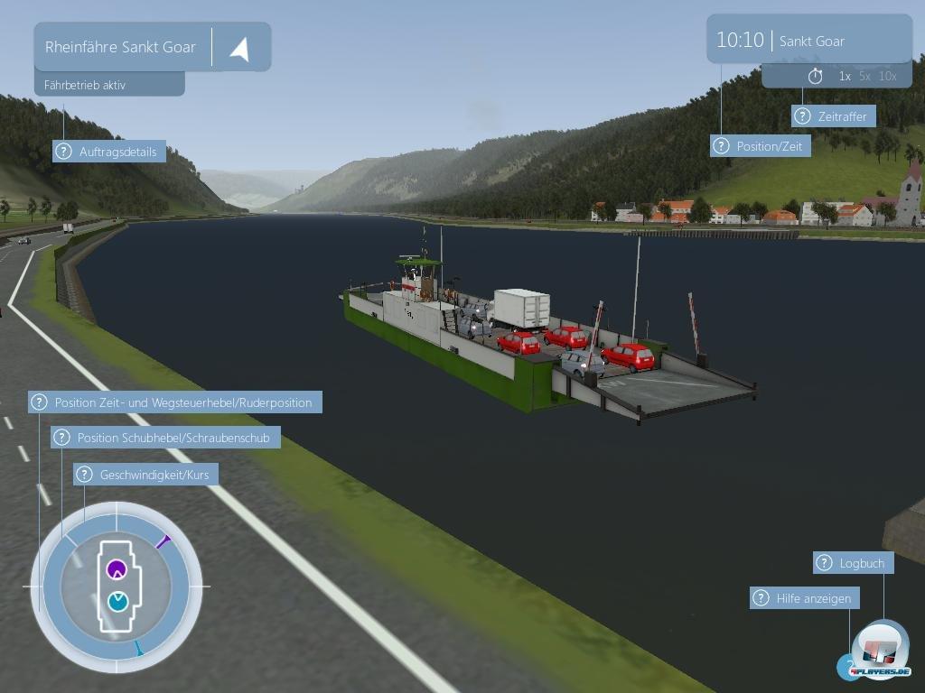 Screenshots Zu SchiffSimulator Binnenschifffahrt Alles Zum - Minecraft weltenbauer spielen