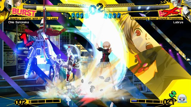 Screenshot - Persona 4: Arena (PlayStation3) 2370507