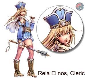 Reia Elinos, Quest-NPC