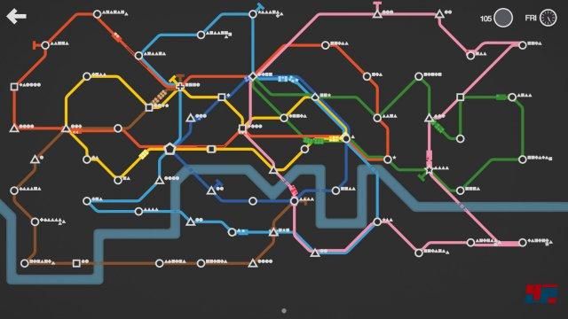 Spätere Streckenpläne sind meist komplexe Gebilde.