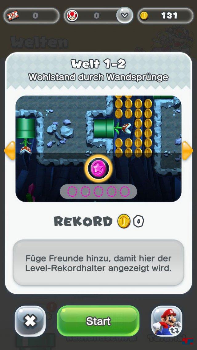 Screenshot - Super Mario Run (iPad) 92537678
