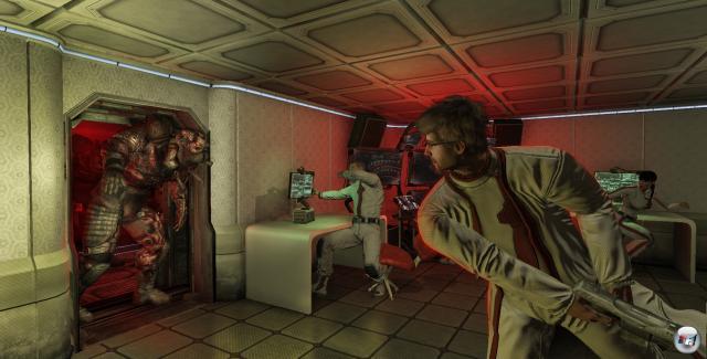 Panik unter den Wissenschaftlern: Ein Mutant betritt das Labor!