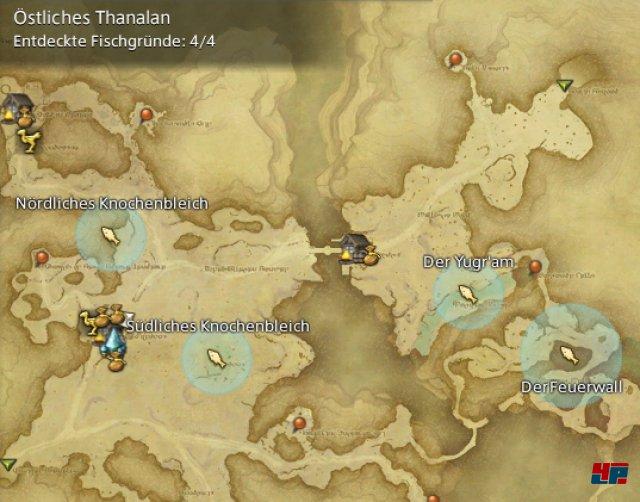 Final Fantasy XIV Online: A Realm Reborn - Fischgründe: Thanalan, Östliches Thanalan
