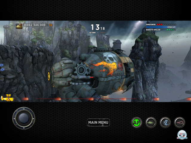 Screenshot - Sine Mora (iPad)