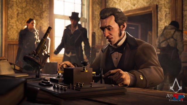 Im viktorianischen London begegnet man zahlreichen historischen Persönlichkeiten wie z.B. Alexander Graham Bell.
