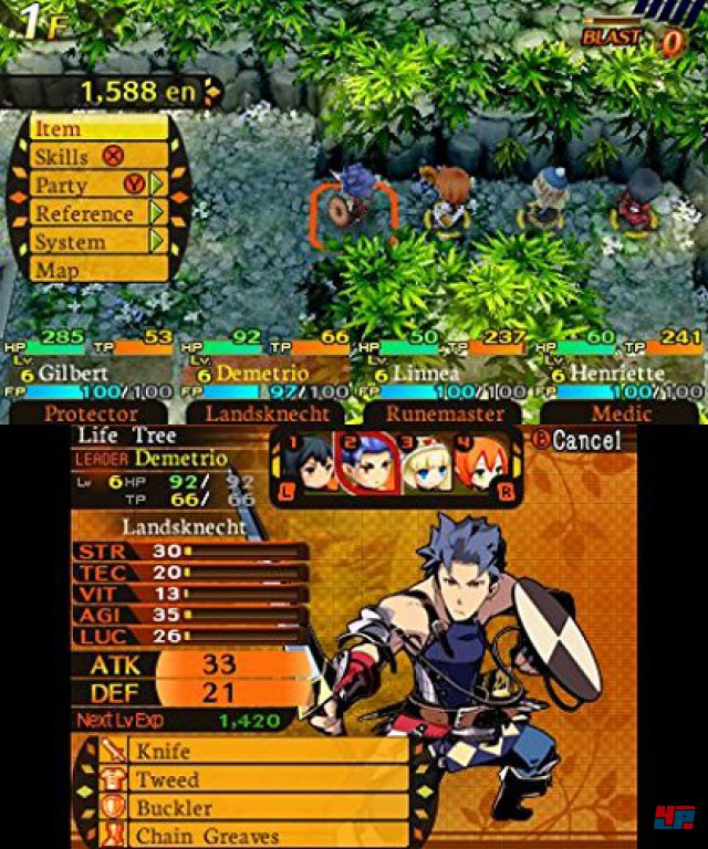 Screenshot - Etrian Mystery Dungeon (3DS)