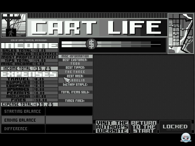 Screenshot - Cart Life (PC)