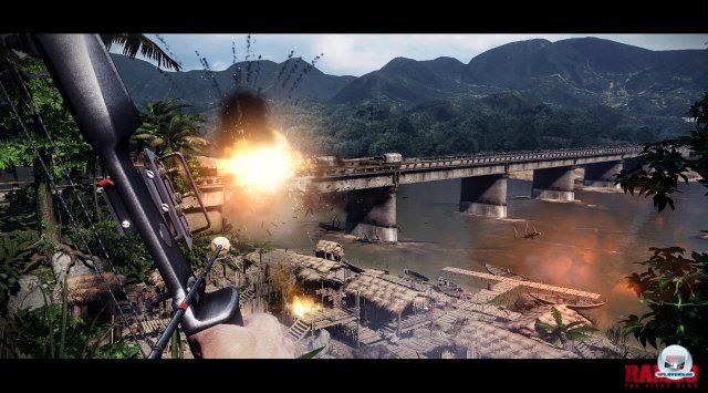 Screenshot - Rambo: The Video Game (360)
