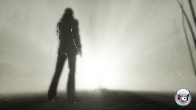 <b>Alan Wake</b><br><br>Das gilt auch für die Superfinnen von Remedy, denn deren letzter spielbarer Krimiroman, Max Payne 2, liegt mittlerweile fast sechs Jahre zurück! Irre viel Zeit für einen neuen düsteren Helden: Alan Wake soll weitaus mehr Drama und Survival Horror als Schrotgewehr-Zeitlupen-Rabatz werden. 1954148