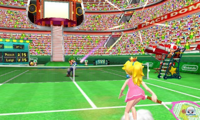Screenshot - Mario Tennis 3D (3DS) 2287517