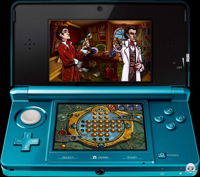 Screenshot - Sherlock Holmes and the Mystery of the Frozen City (3DS) 92401392