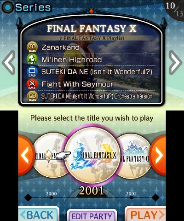 Screenshot - Theatrhythm: Final Fantasy (3DS) 2366187