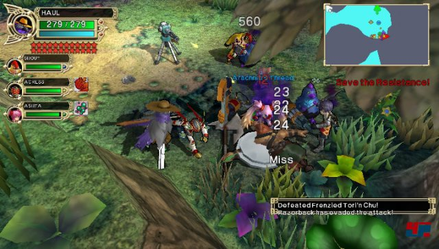 Screenshot - Fantasy Hero: Unsigned Legacy (PS_Vita)