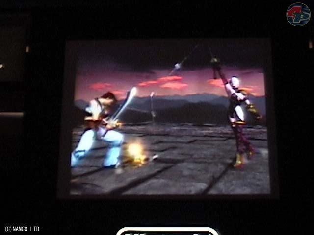 Ivy in Aktion: den Draht, den sie seit der Dreamcast-Version verwendet, kann man hier besonders gut sehen. 15975