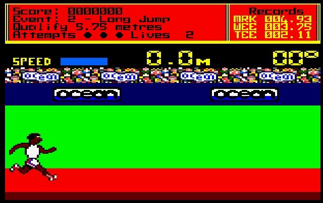 Sportspiele der 80er waren für viele Dinge bekannt: Simple Grafik, viele Disziplinen, Multiplayerspaß... 1980358
