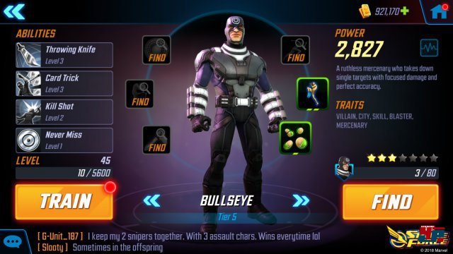 Screenshot - Marvel Strike Force (Android)