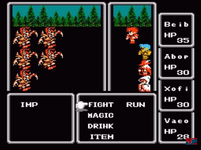 Screenshot - Final Fantasy (NES) 92549046