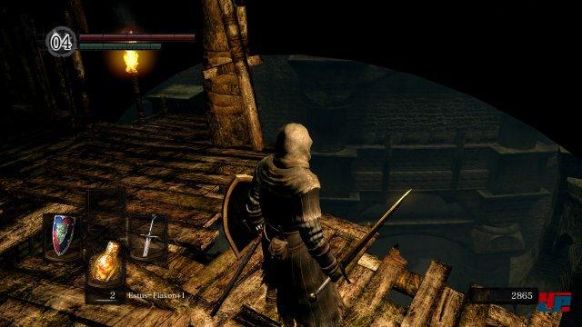 Auch in der Schandstadt läuft Dark Souls 3 Remastered stabil mit 60 Bildern pro Sekunde.