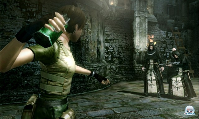 Screenshot - Resident Evil: The Mercenaries - 3D Edition (NDS) 2221692