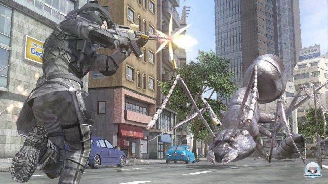 Der Kampf gegen Rieseninsekten und Roboter ist der Beweis dafür, dass Kulisse beinahe unwichtig ist, wenn der Spaß stimmt.