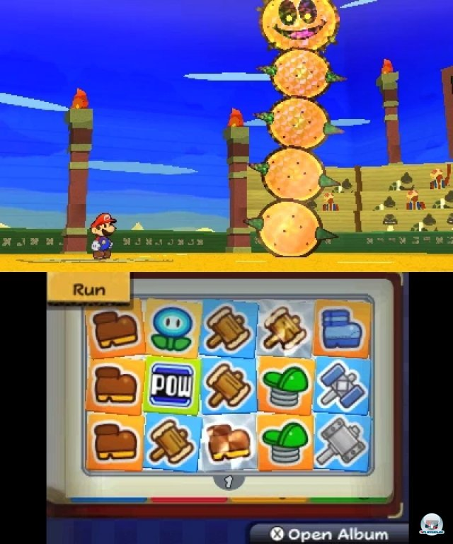Screenshot - Paper Mario: Sticker Star (3DS) 2361212