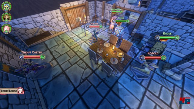 Screenshot - Popup Dungeon (Linux)
