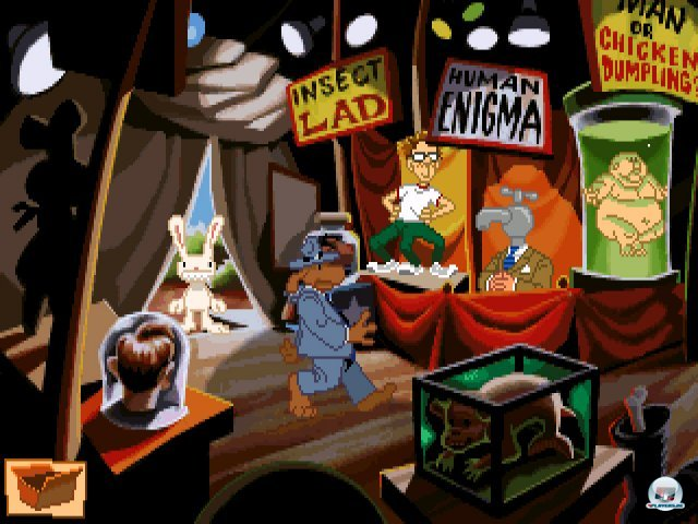 Screenshot - Sam & Max Hit the Road (PC) 92431607