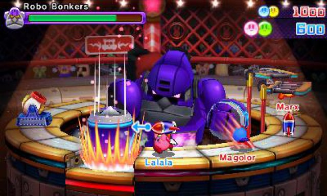 Screenshot - Kirby Battle Royale (3DS)